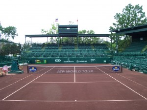 U.S. Men's Clay Court Championship Tennis Court