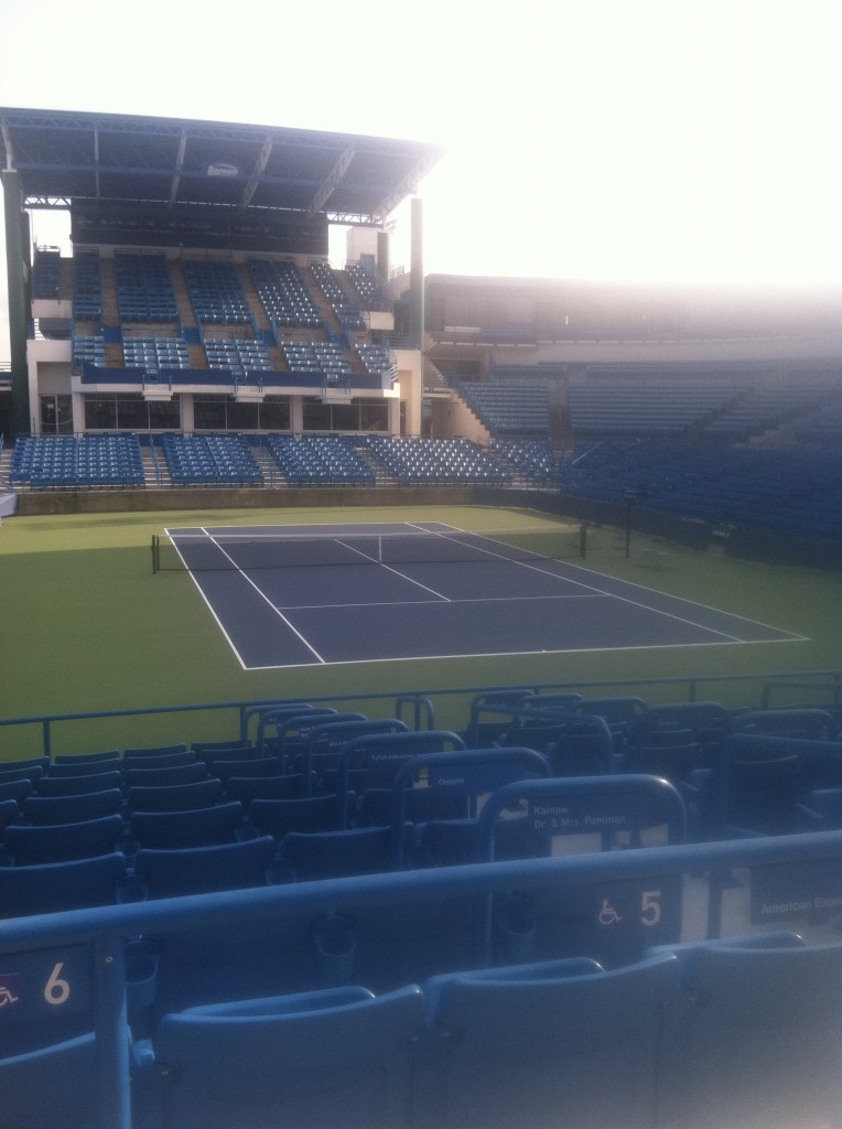 Cincy Masters Tennis - Center Court - Pic #2
